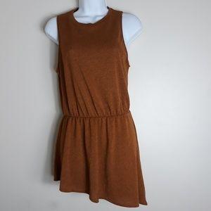 Zara  Knit Asymmetrical Tunic Dress